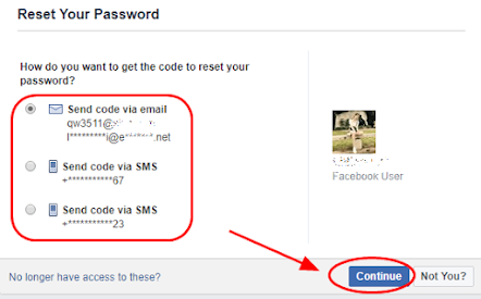 Cara Mengatasi Ketika Kita lupa Password Facebook 7