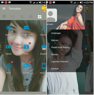 BBM Mod Cewek Cantik v3.2.0.6 APK