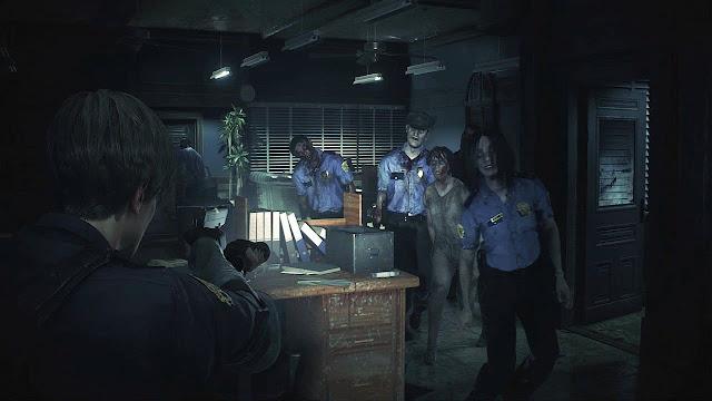 Imagem do Resident Evil 2