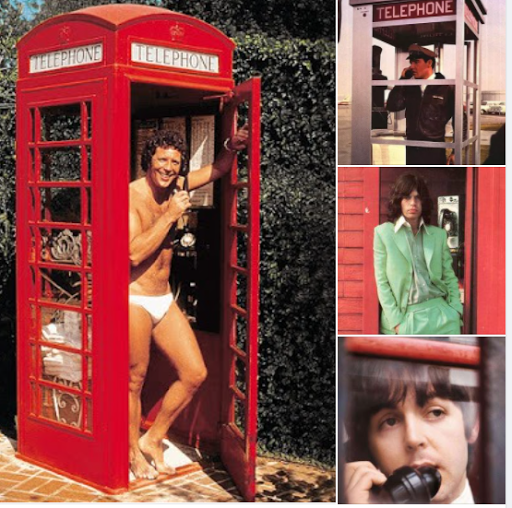 PHONE BOOTHS WERE COMMON BUT WHO ARE THE STARS INSIDE...