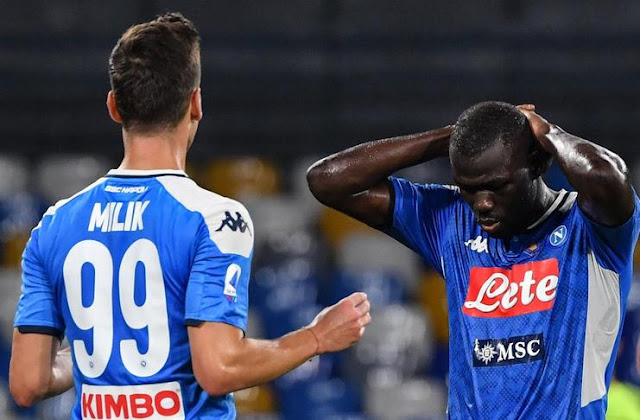 Kalidou Koulibaly Affected by Suspension, Napoli Crisis Center Defender