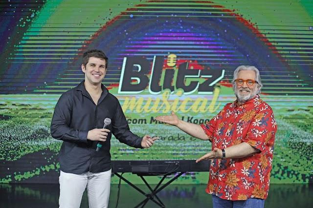 Apresentado por Marcel Kogos, TV Gazeta estreia o Programa Blitz Musical
