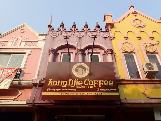 Kong Djie Coffee, BSD - Tentang Es Kopi Susu dan Mie Ayam Khas Belitung