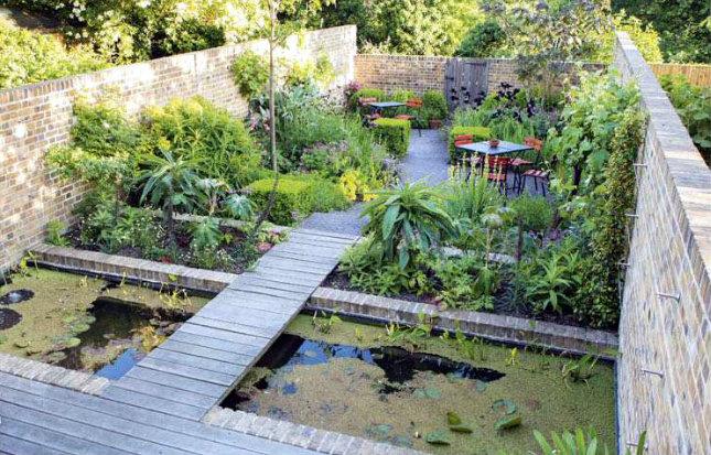 Pequeño jardín urbano paisajista Jinny Blom