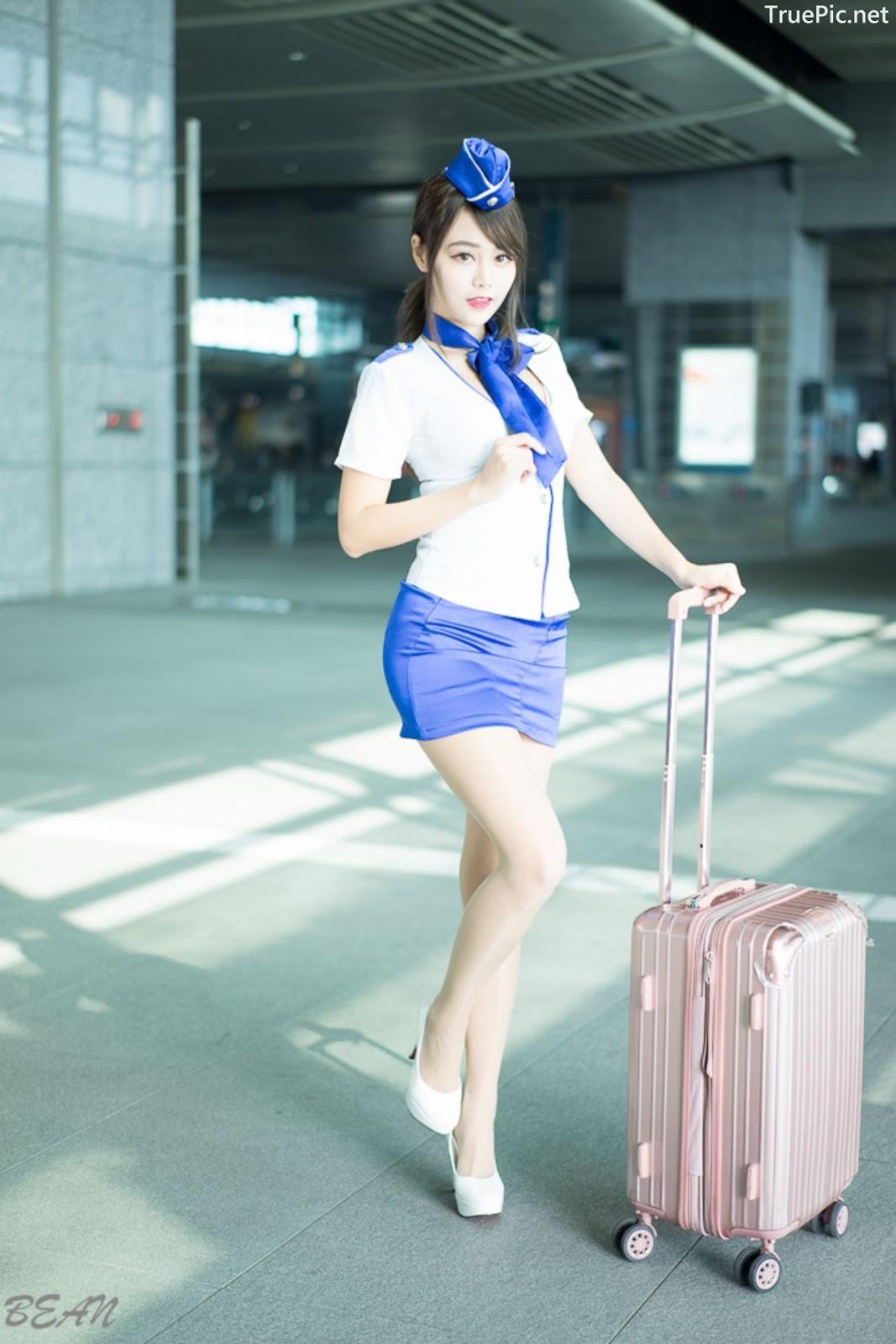 Image-Taiwan-Social-Celebrity-Sun-Hui-Tong-孫卉彤-Stewardess-High-speed-Railway-TruePic.net- Picture-9
