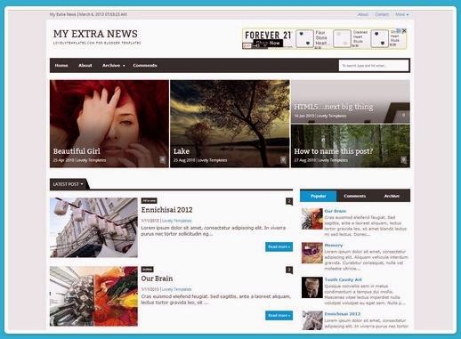 Premium Blogger Responsive Templates for Adsense 2017 Free Download ...