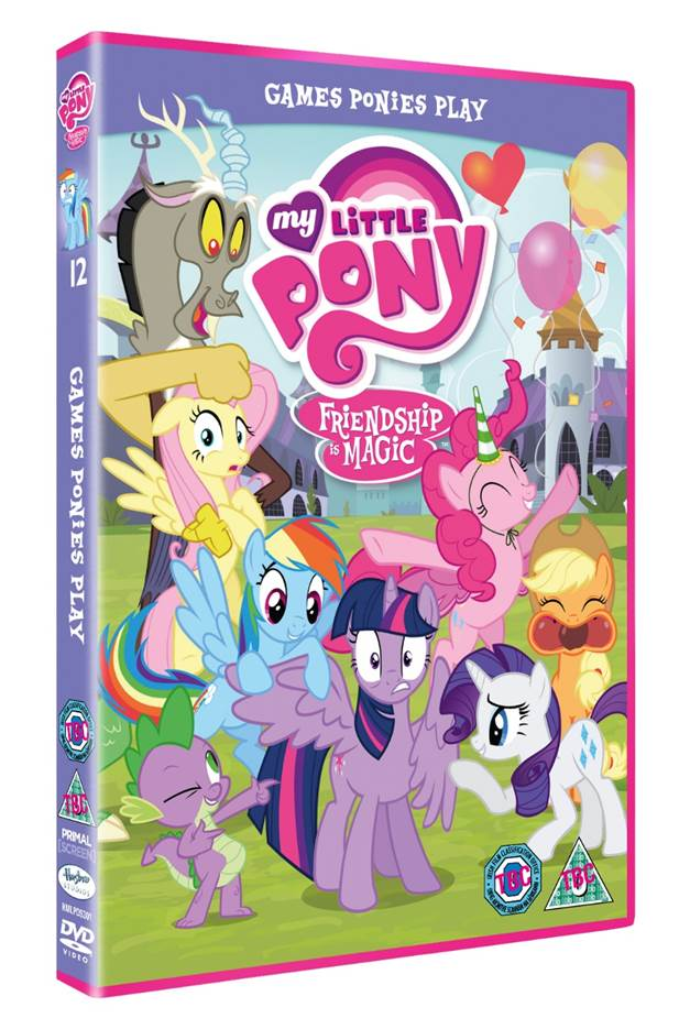 My Little Pony: Friendship is Magic - Games Ponies Play DVD | This ...
