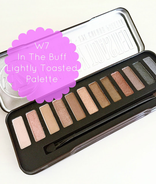 W7 Lightly Toasted Eyeshadow Palette Review
