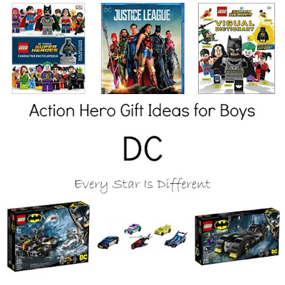DC Action Hero Gift Ideas for Boys