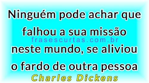 Frases de Charles Dickens sobre o Mundo