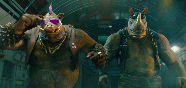 Bebop și Rocksteady