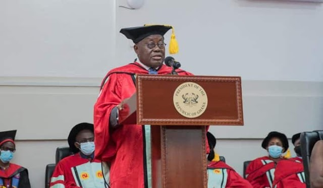 UCC honours Akufo-Addo with Doctorate Degree for Free SHS policy
