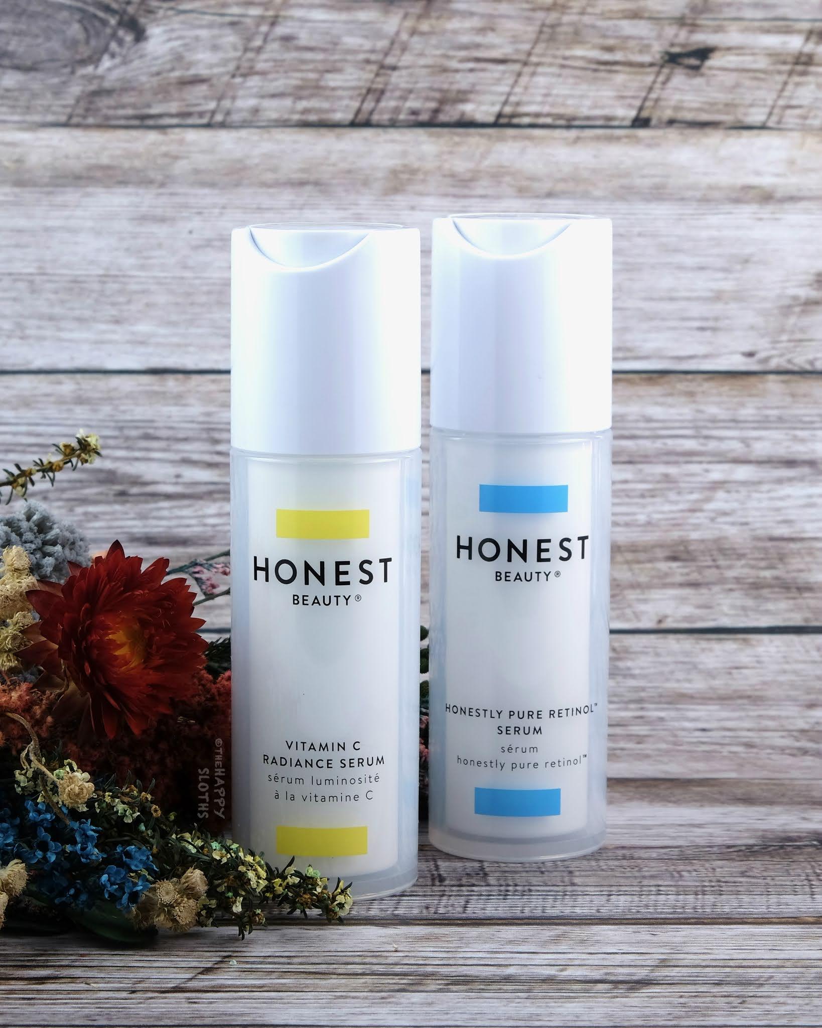 Honest Beauty | Vitamin C Radiance Serum & Honestly Pure Retinol Serum: Review