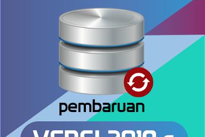 Rilis Aplikasi Dapodikdasmen Versi 2019.c