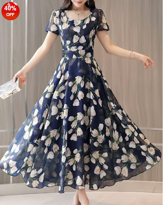 cheap floral dress