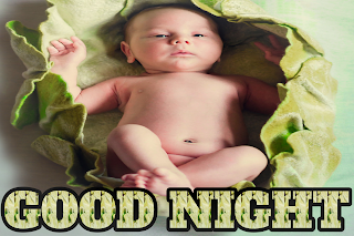 Good night baby image hd, good night cute baby photos