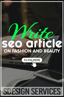 SEO article on fashion and beauty - build audience and attract buyers, optimized for Search Engines