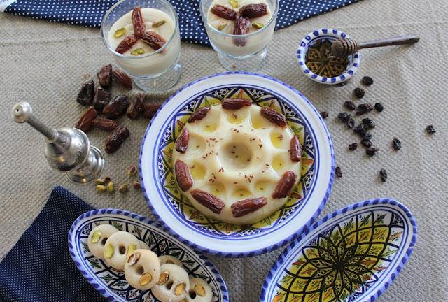 العصيدة  التنوسية أكلات تونسية