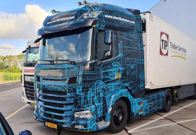 DAF revela data de lançamento da nova geração de caminhões XF