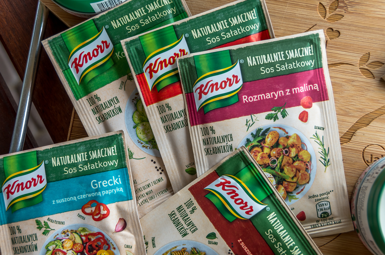 sos sałatkowy Knorr