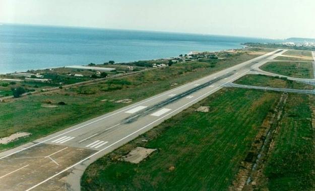 Οι Τούρκοι δέσμευσαν για άσκηση ένα μέρος της τερματικής περιοχής του αερολιμένα της Ρόδου