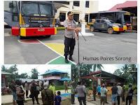 Pasca Massa Arnarkis Di Kota Sorong, Personil Polres Sorong Aimas Patroli Secara Rutin