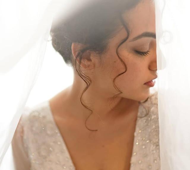 Actress Nithya Menen Latest Photoshoot Stills in Bridal Dress Actress Trend