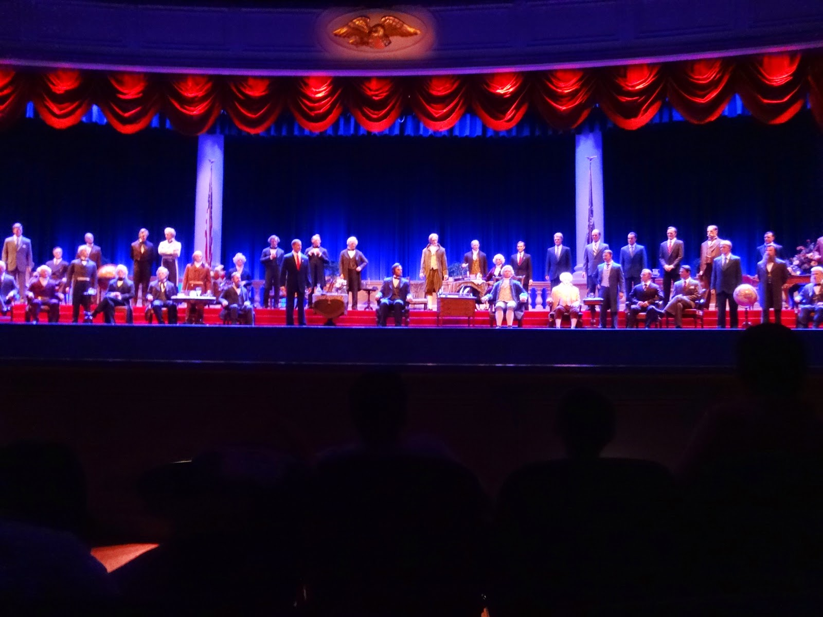 hall of presidents - magic kingdom - orlando, eua