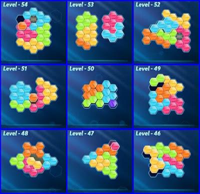 Block! Hexa Puzle Level  46-54