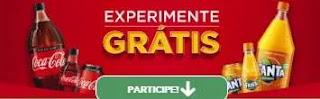 Cadastrar Promoção Coca Cola Sem Açúcar e Fanta Experimente Grátis Ganhe R$ 20 de Volta