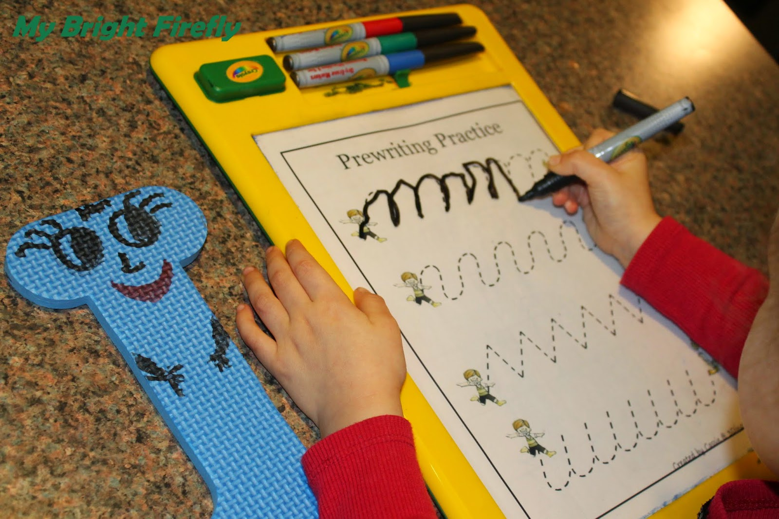 My Bright Firefly Simple Preschool Math Activities