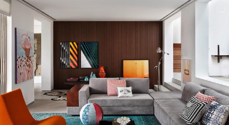 El blog de demarques el amor por los muebles retro - Case colorate interni ...