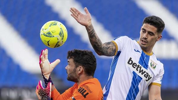 El Leganés gana en la recta final al Málaga (1-0)