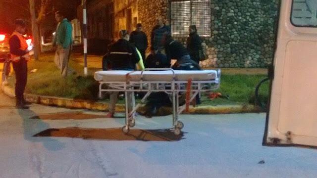 Accidente: Chocaron una motocicleta y un auto