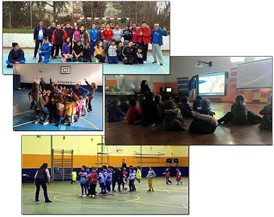 Balonmano colegios Aranjuez
