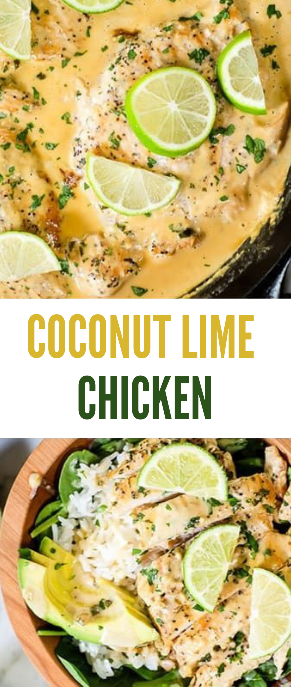 COCONUT LIME CHICKEN #chicken #healthyeating