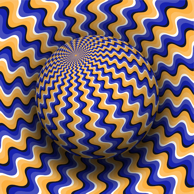 Optical illusions and magic tricks
