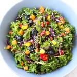 Kale salad | danceofstoves.com #vegan