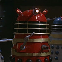 Dr Who & the Daleks Red Dalek 02