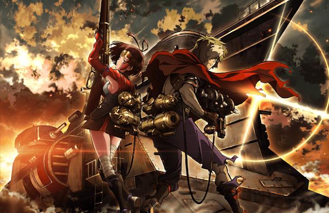 Sinopsis Anime Musim Semi Genre Action - Koutetsujou no Kabaneri