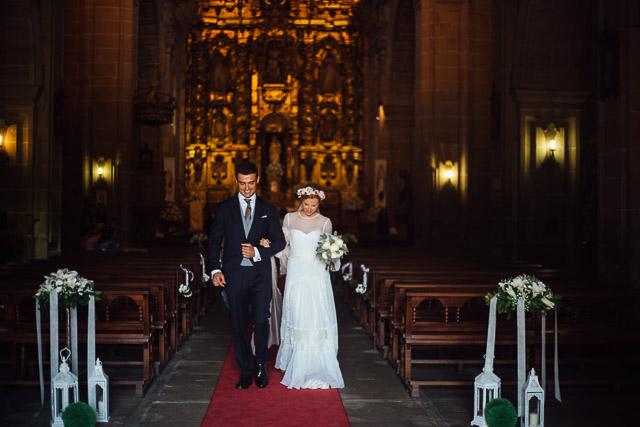 galicia boda novia vestido alberta ferretti wedding dress bridal lagar pintos