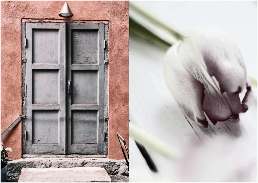 Helsinki, valokuvaus, valokuvaaja, tulppaanit, Visualaddict, Frida Steiner, valokuvaus, arkkitehtuuri, vanha talo, sisäpiha, Finland, ovi