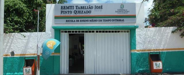 Escola Tabelião José Pinto Quezado está com matriculas abertas para alunos que estão concluindo o 9º ano