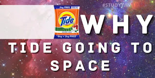 why tide is going to space