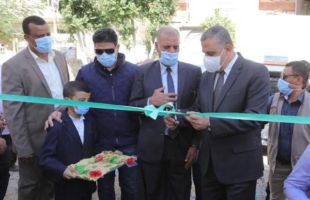 محافظ سوهاج يفتتح مبنى الوحدة المحلية لقرية السلام