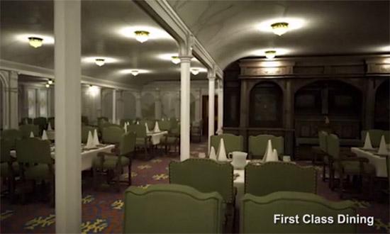 Titanic - Restaurante da 1ª classe