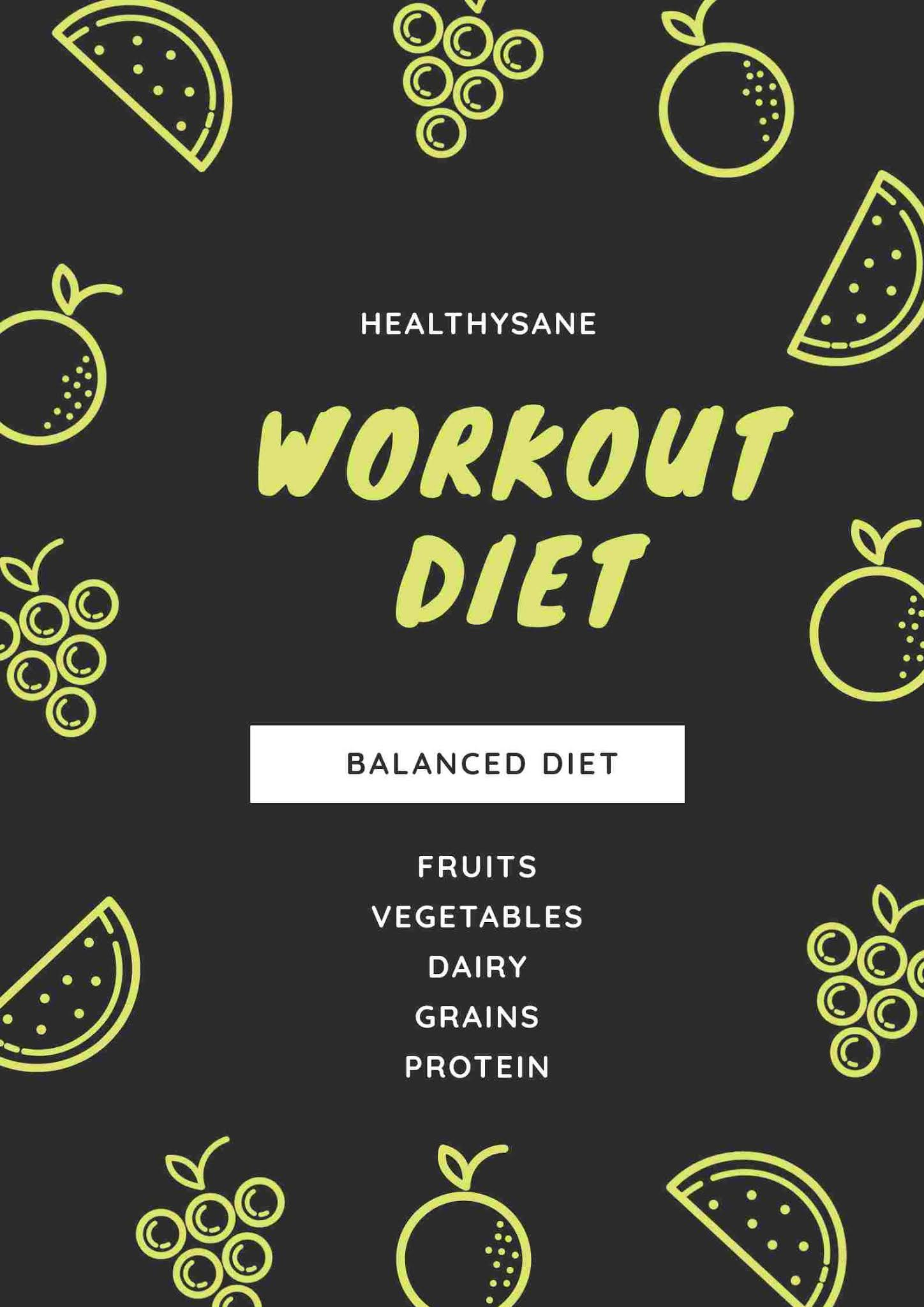 Workout diet, vegan diet, fitness, gym workout
