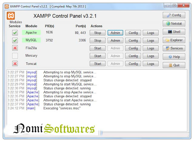XAMP SERVER 5.6.12 Free Download