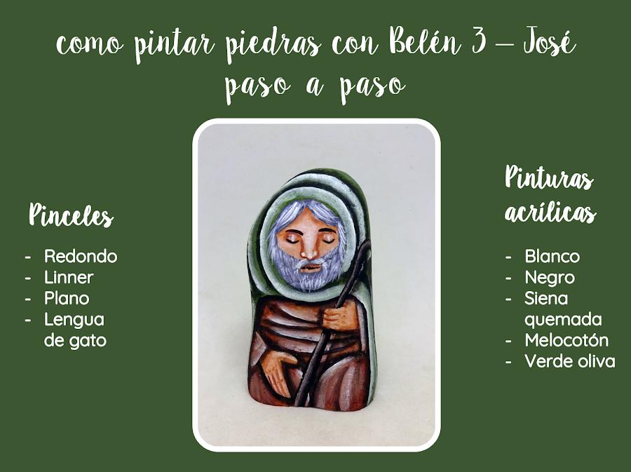PIEDRAS PINTADAS CON BELEN