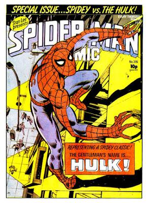 Spider-Man Comic #316